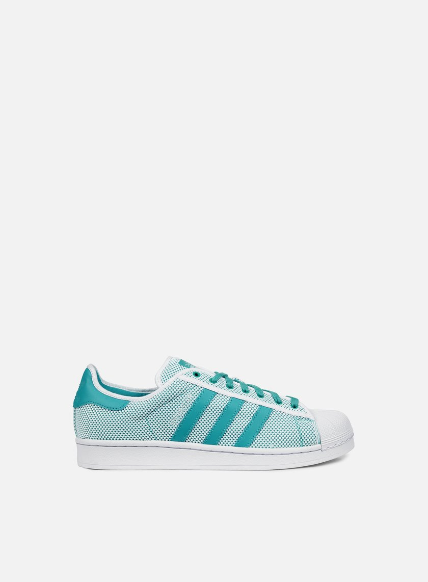 Adidas Originals - Superstar Adicolor, White/Shock Green/White