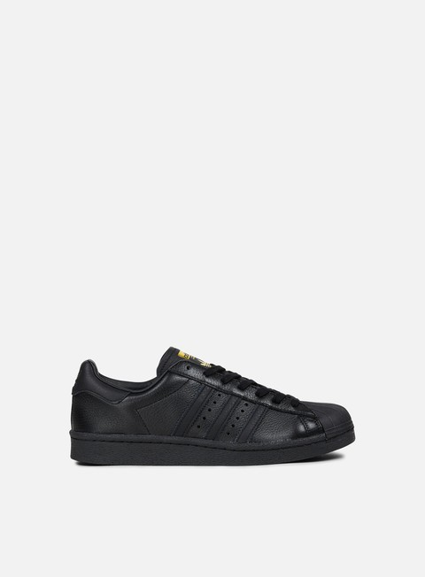 sneakers adidas originals superstar boost core black gold metal