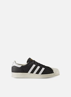 Adidas Originals - Superstar Boost, Core Black/White/Gold Metal