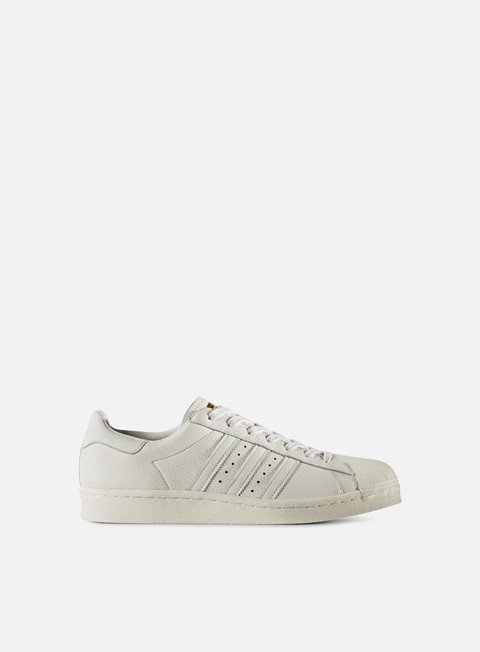 sneakers adidas originals superstar boost vintage white gold metal