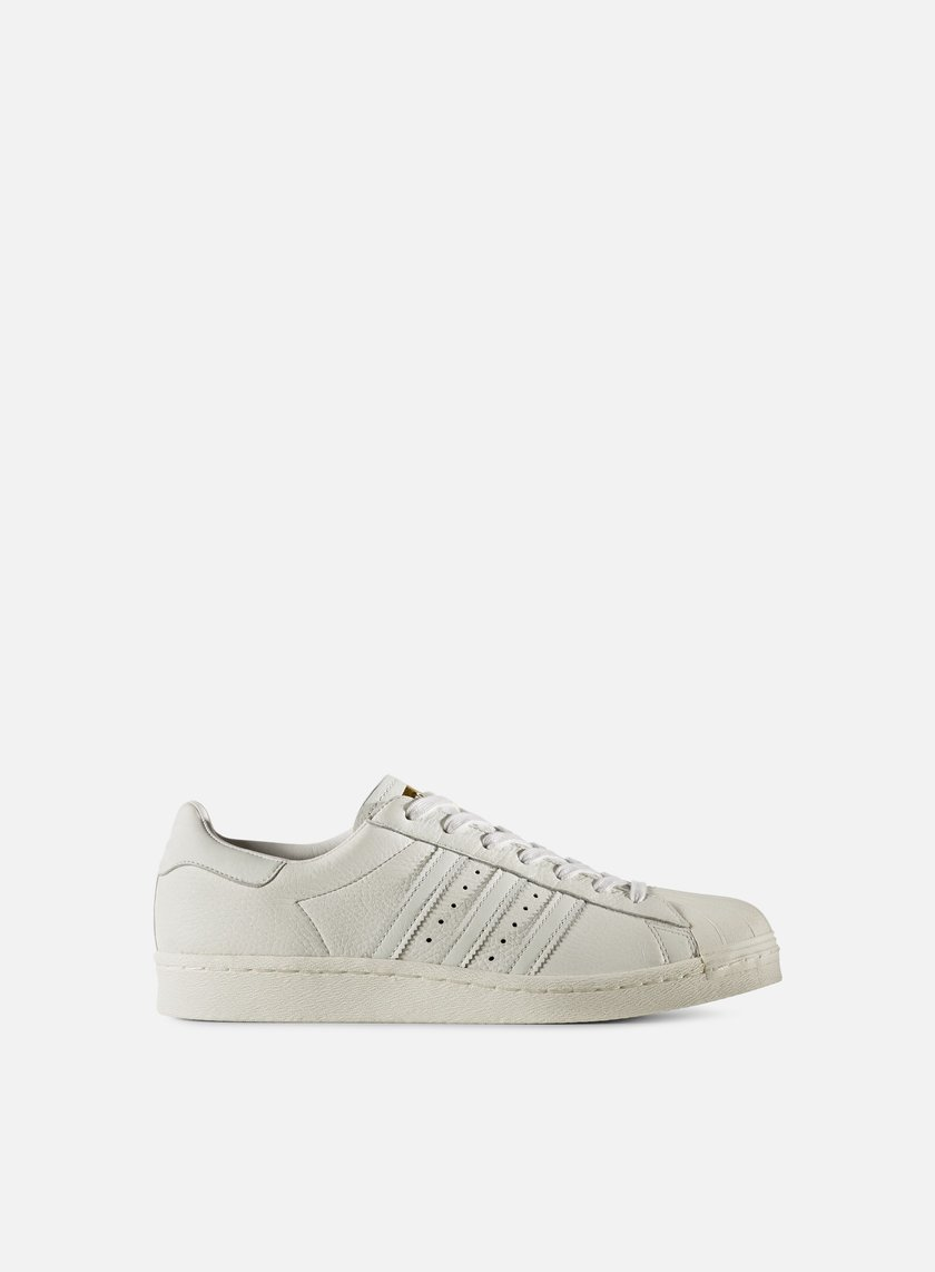 Adidas Originals - Superstar Boost, Vintage White/Gold Metal