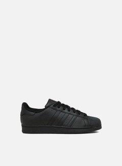 Adidas Originals - Superstar Foundation, Core Black/Core Black/Core Black 1
