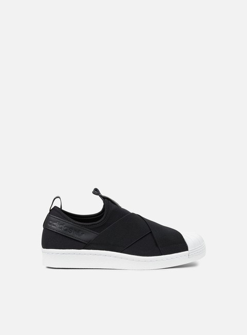 sneakers adidas originals superstar slip on core black core black core black