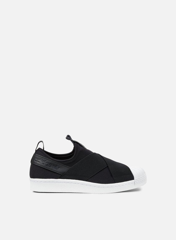 Adidas Originals - Superstar Slip On, Core Black/Core Black/Core Black