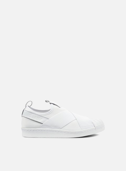 sneakers adidas originals superstar slip on white white white