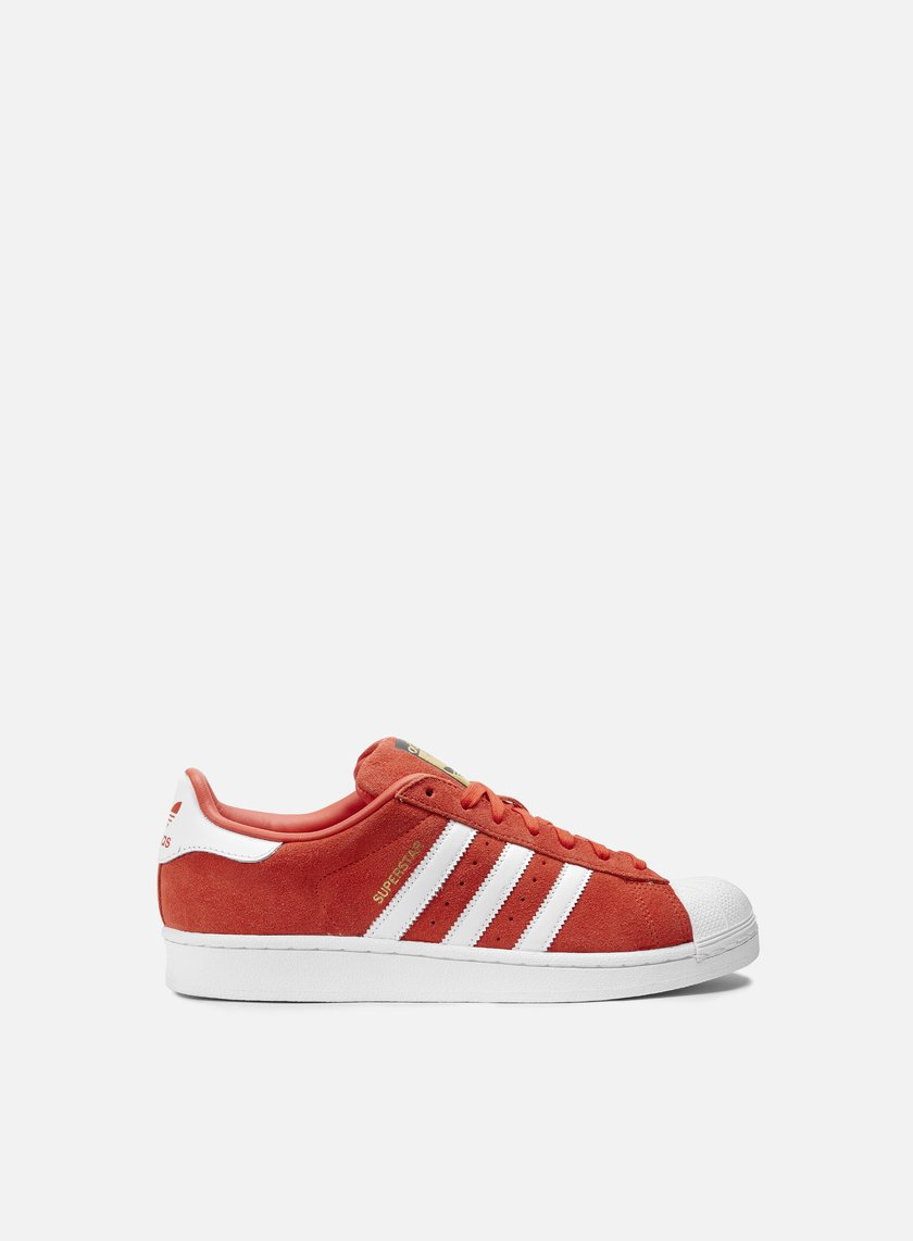Adidas Originals - Superstar Suede, Red/Running White/Red