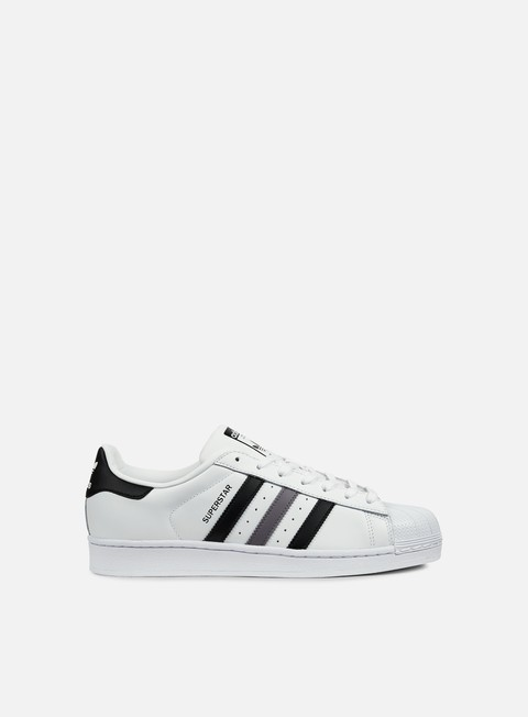 sneakers adidas originals superstar white black trace grey