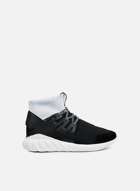 sneakers adidas originals tubular doom black black white
