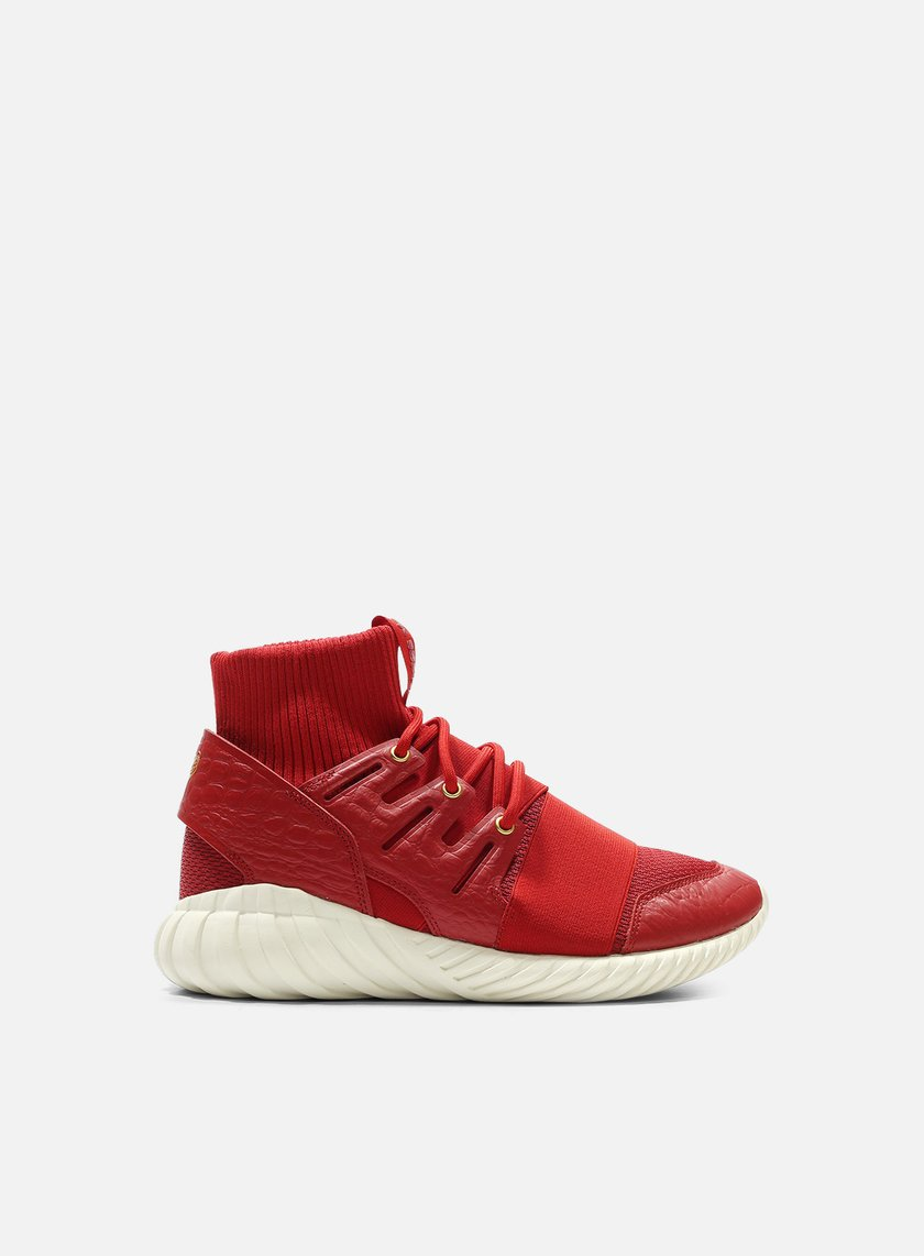 Adidas Originals - Tubular Doom CNY, Power Red/Power Red/Gold Metal