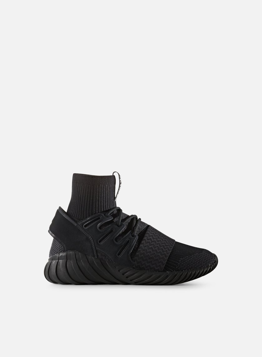 Adidas Originals - Tubular Doom Primeknit, Core Black/Neutral Grey/White