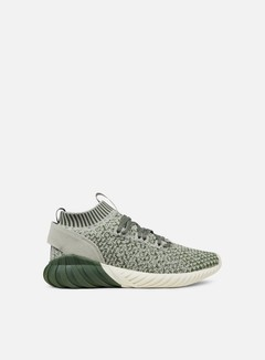 Adidas Originals - Tubular Doom Sock Primeknit, Base Green/Sesame/Chalk White