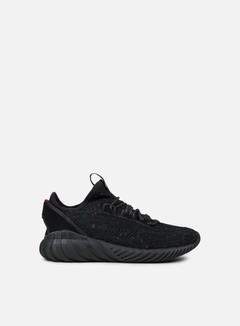 Adidas Originals - Tubular Doom Sock Primeknit, Core Black/Core Black/Trace Olive 1