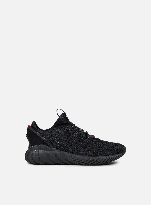 Adidas Originals - Tubular Doom Sock Primeknit, Core Black/Core Black/Trace Olive