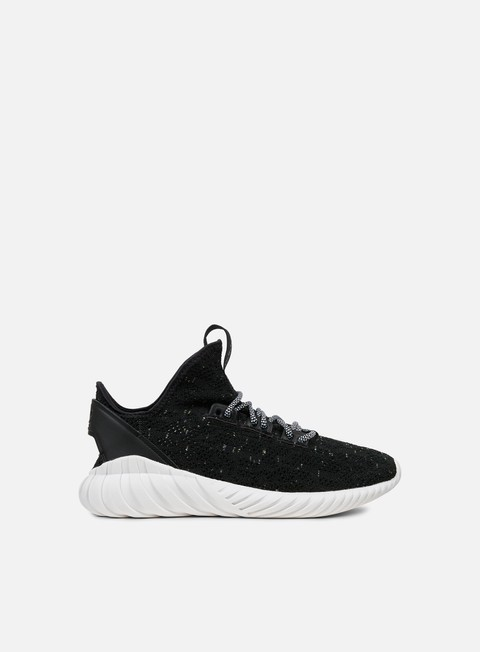 sneakers adidas originals tubular doom sock primeknit core black white sefrye