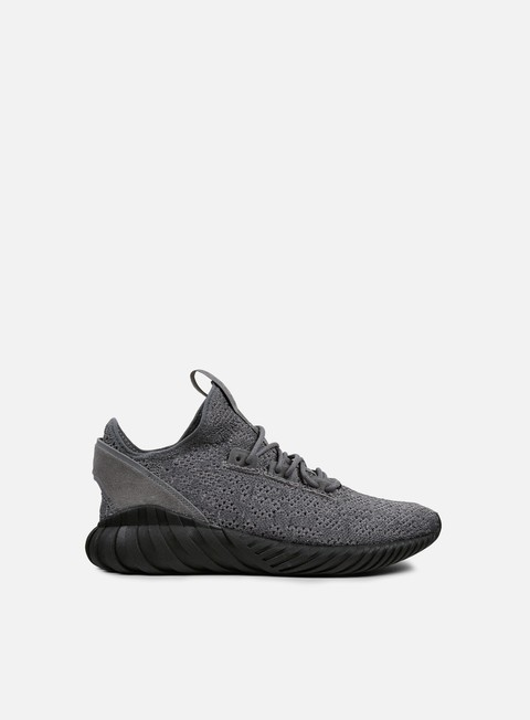 sneakers adidas originals tubular doom sock primeknit grey four core black white