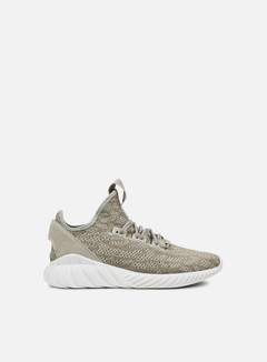 Adidas Originals - Tubular Doom Sock Primeknit, Sesame/Sesame/Crystal White
