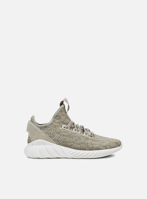 sneakers adidas originals tubular doom sock primeknit sesame sesame crystal white