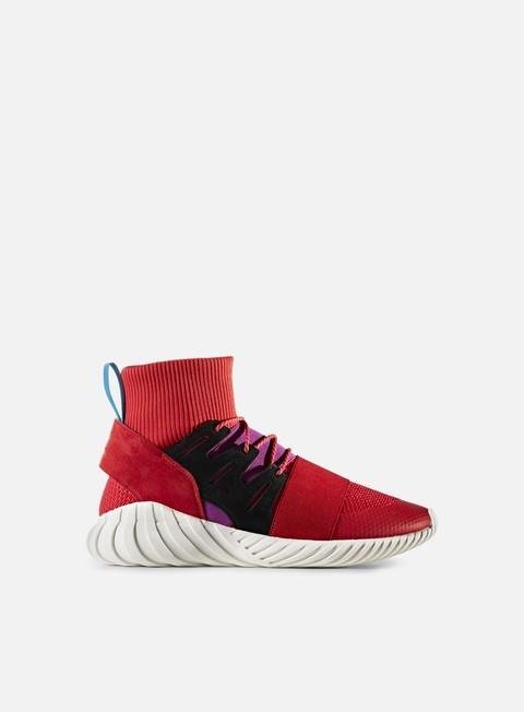 sneakers adidas originals tubular doom winter scarlet scarlet shock purple