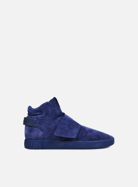 sneakers adidas originals tubular invader dark blue dark blue white