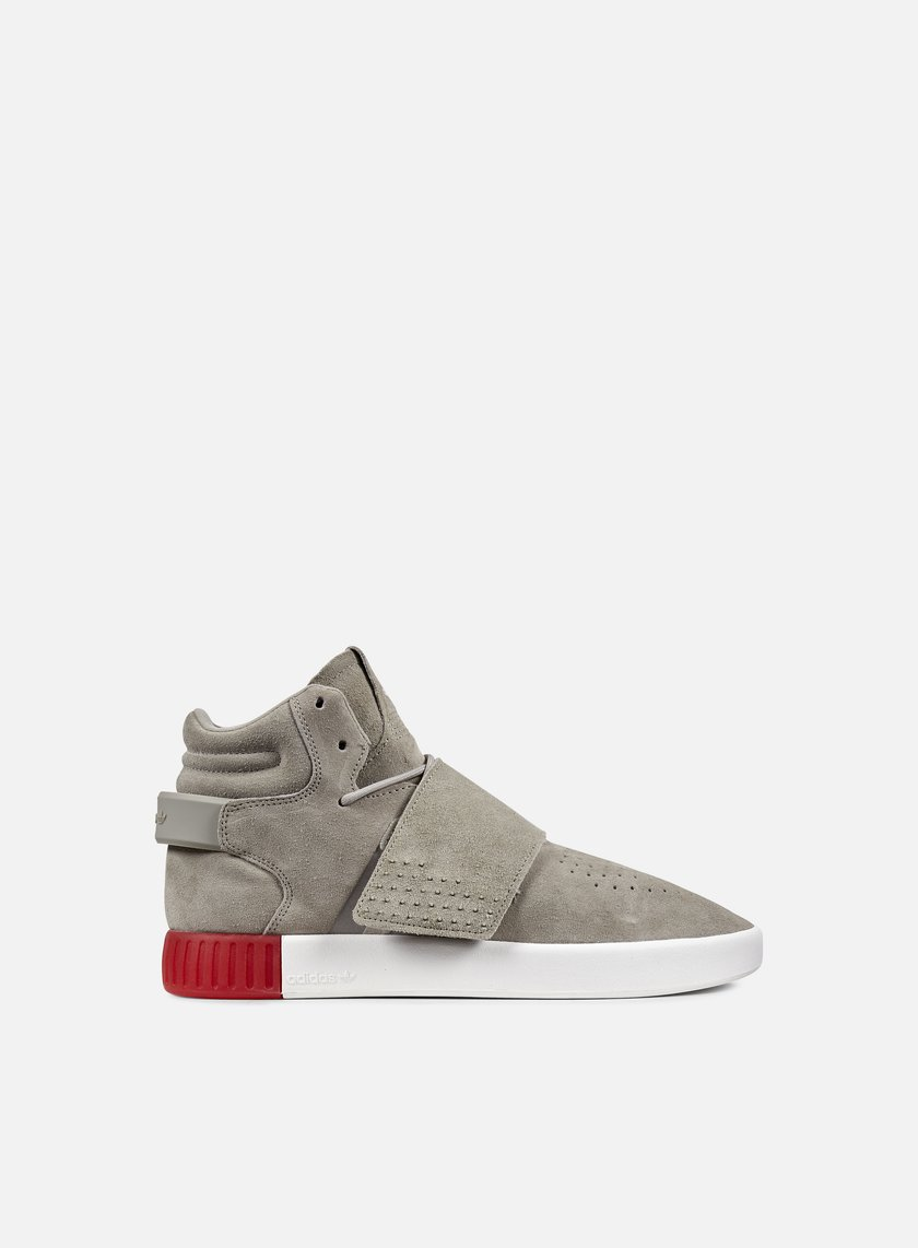 Adidas Originals - Tubular Invader, Sesame/Sesame/Vivid Red