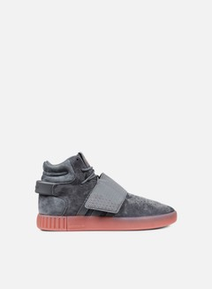 Adidas Originals - Tubular Invader Strap, Grey Four/Grey Four/Raw Pink 1