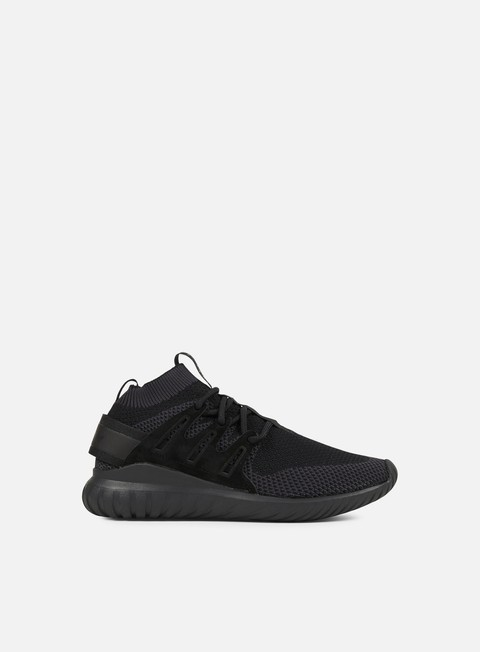 sneakers adidas originals tubular nova primeknit core black neutral grey core black
