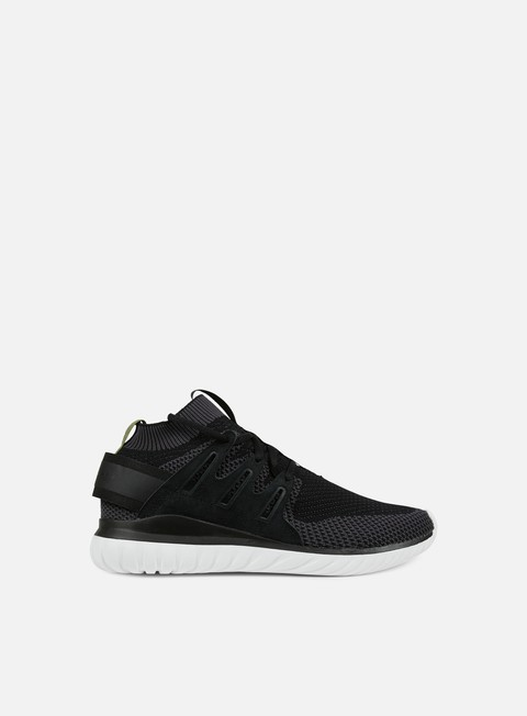 sneakers adidas originals tubular nova primeknit shadow black core black future forest