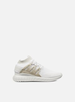 Adidas Originals - Tubular Nova Primeknit, White/Vintage White/White