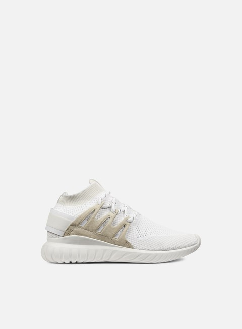 sneakers adidas originals tubular nova primeknit white vintage white white