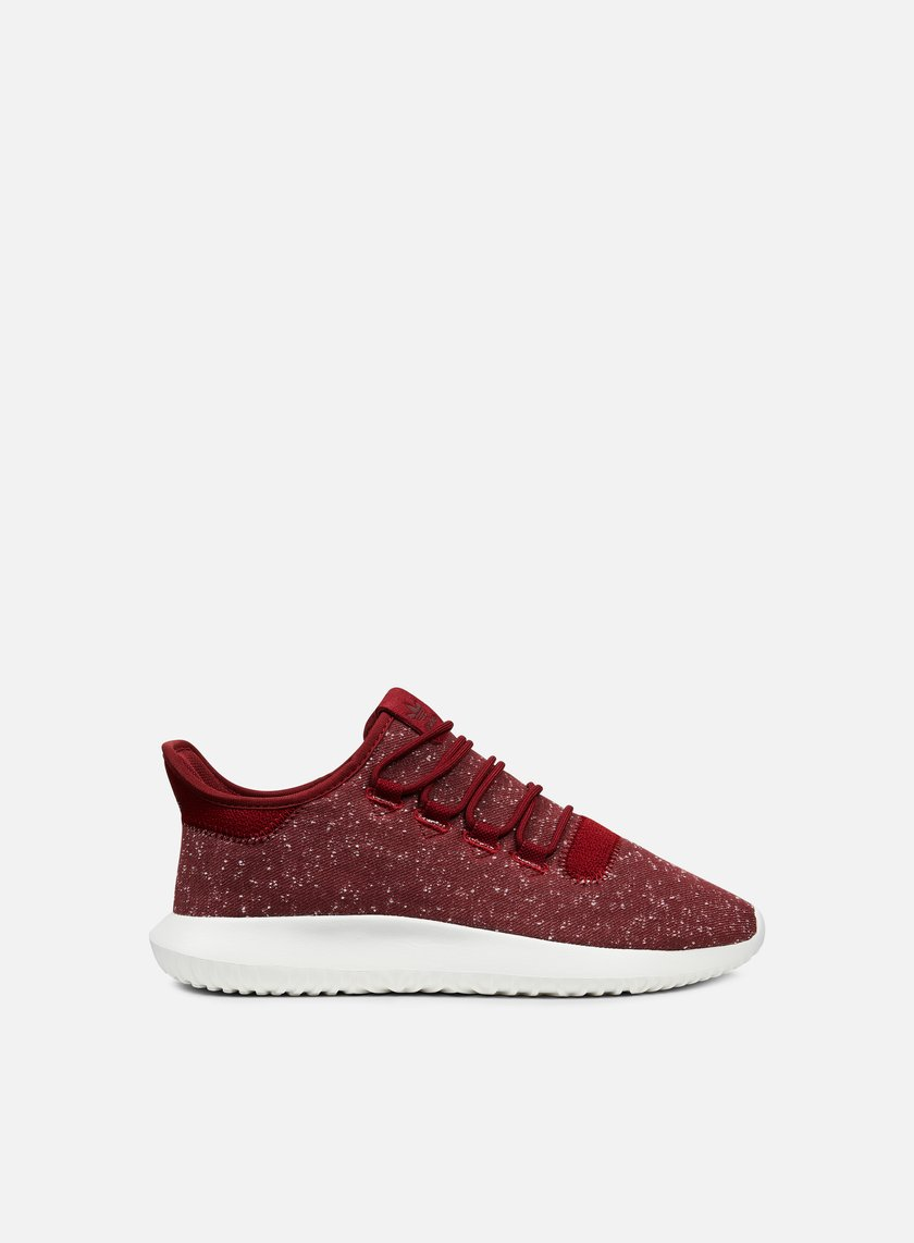 Adidas Originals - Tubular Shadow, Collegiate Burgundy/Collegiate Burgundy/Crystal White