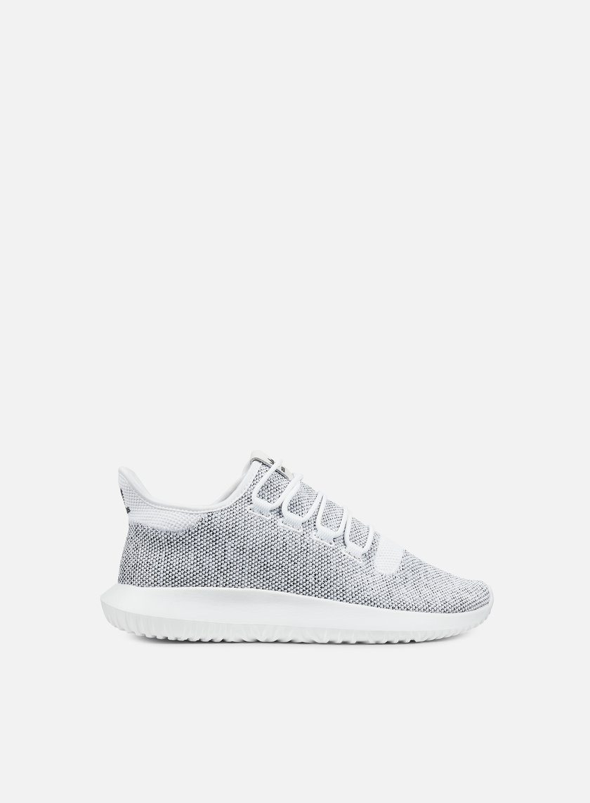 Adidas Originals - Tubular Shadow Knit, White/White/Core Black