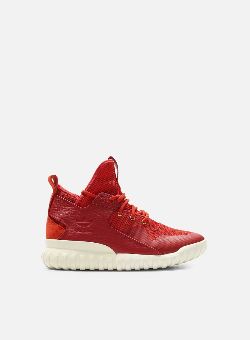 eddd9432c6619 ADIDAS MENS TUBULAR X CHINESE NEW YEAR AQ2548 RED GOLD WHT RED GOLD WHT 9.5
