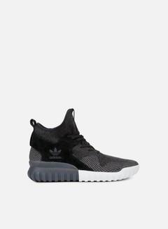 Adidas Originals - Tubular X Primeknit, Core Black/Dark Grey/Charcoal Solid Grey 1