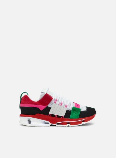 sneakers adidas originals twinstrike adv core black white scarlet