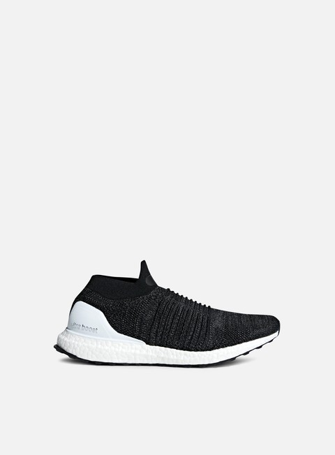 sneakers adidas originals ultra boost laceless core black core black solar orange