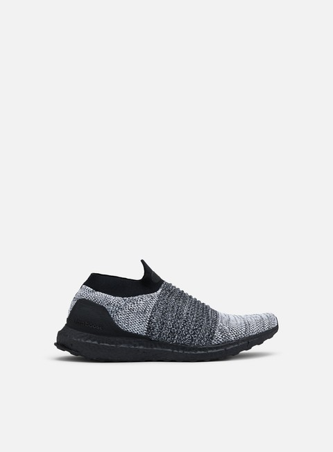 sneakers adidas originals ultra boost laceless core black core black white