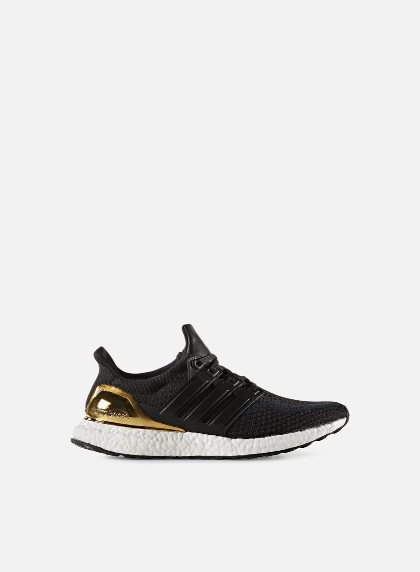 Adidas Originals - Ultra Boost LTD, Core Black/Core Black/Kurtz Gold