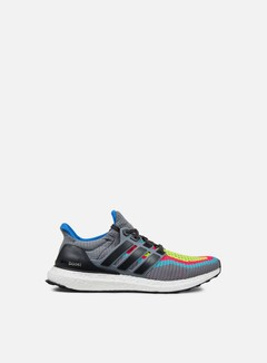 Adidas Originals - Ultra Boost M, Grey/Dgh Solid Grey/Shock Green 1