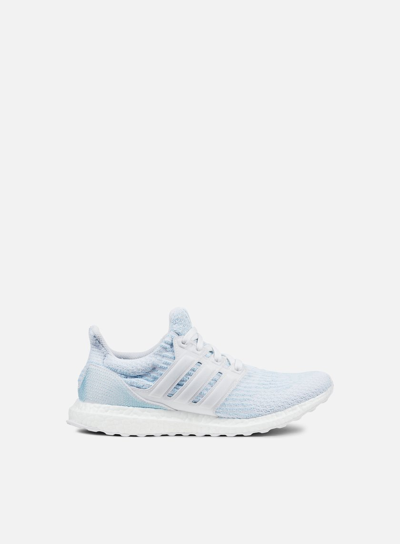 Adidas Originals - Ultra Boost Parley, White/White/Icey Blue