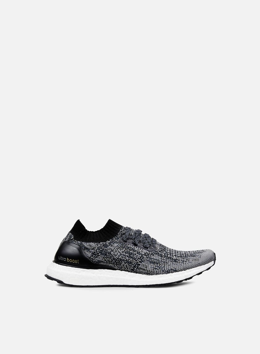 Adidas Originals - Ultra Boost Uncaged, Core Black/Charcoal Solid Grey/Gold Metallic
