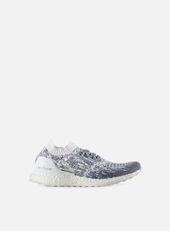 Adidas Originals - Ultra Boost Uncaged, Non Dyed/White/Collegiate Navy