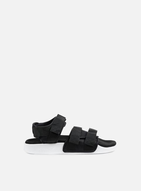 sneakers adidas originals wmns adilette sandal core black core black white