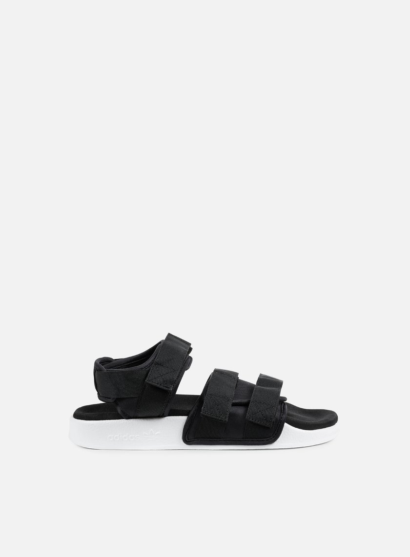 Adidas Originals - WMNS Adilette Sandal, Core Black/Core Black/White