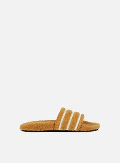 Adidas Originals - WMNS Adilette Slides, Mesa/White/Core Black