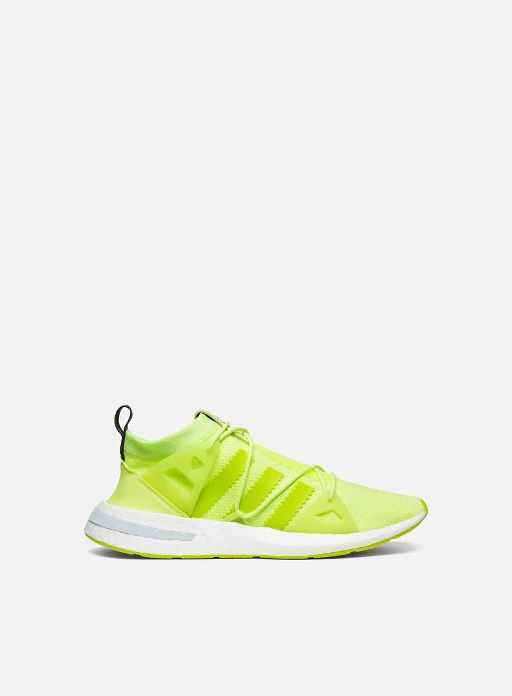 Adidas Originals WMNS arkyn, Glow / semi - solar AMARILLO / GRIS cinco F17