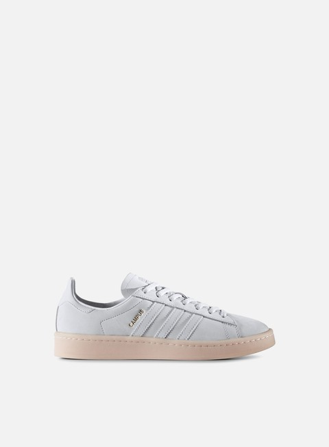 sneakers adidas originals wmns campus crystal white crystal white ice pink