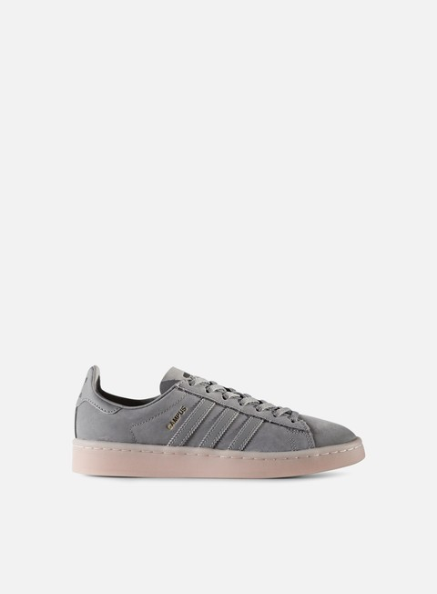 sneakers adidas originals wmns campus grey heather grey heather ice pink