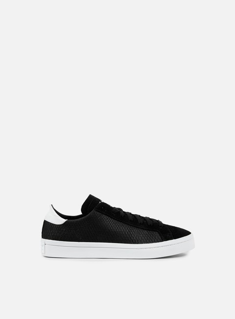 sneakers adidas originals wmns court vantage core black core black running white