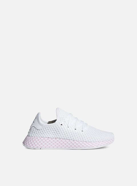sneakers adidas originals wmns deerupt runner ftwr white ftwr white clear lilac