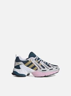 Adidas Originals - WMNS Equipment Gazelle, Tech Mineral/Gold Metallic/True Pink